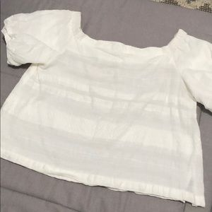 White Top from Waverly Grey